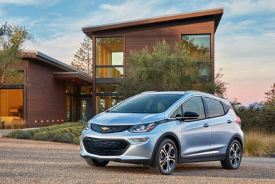 Category battery electric car - 2017 Chevrolet Bolt