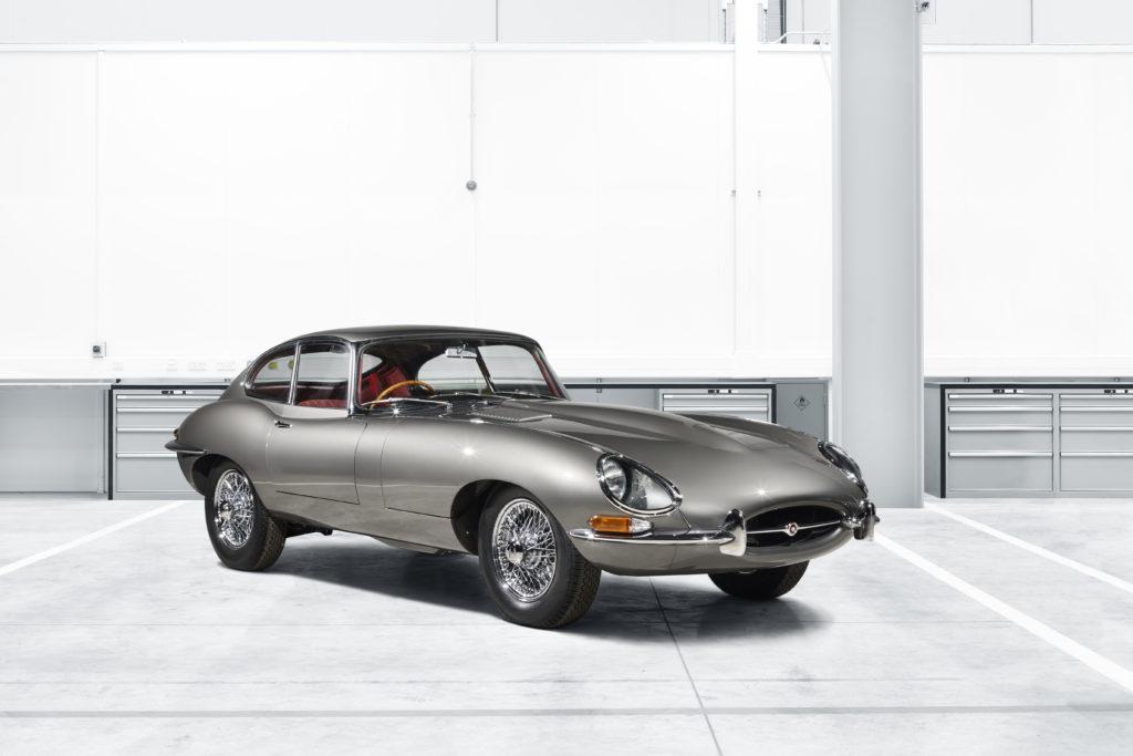 Jaguar E-Type Restoration side profile