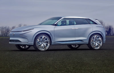Geneva Motor Show fuel-cell concept by Hyundaiv