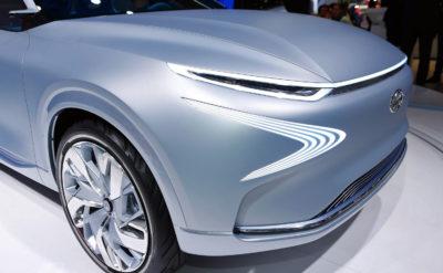 Geneva Motor Show fuel-cell concept by Hyundai