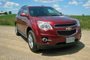 2010 Chevrolet Equinox front