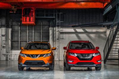 2017 Nissan Qashqai vs Nissan Rogue