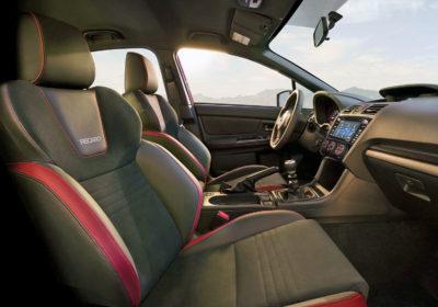 2018 Subaru WRX seats