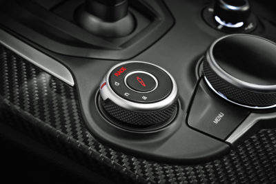 Alfa Romeo Stelvio center console