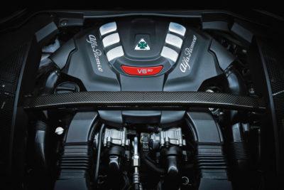 Alfa Romeo Stelvio engine