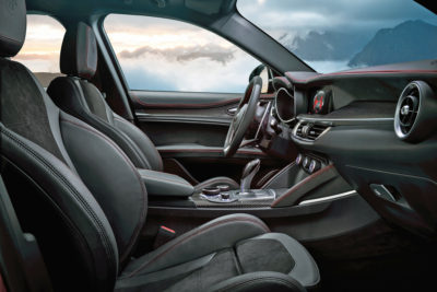 Alfa Romeo Stelvio front seats