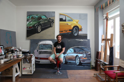 Auto Artist Manu Campa