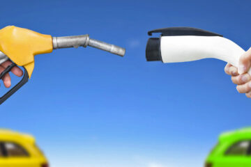EV versus gasoline power