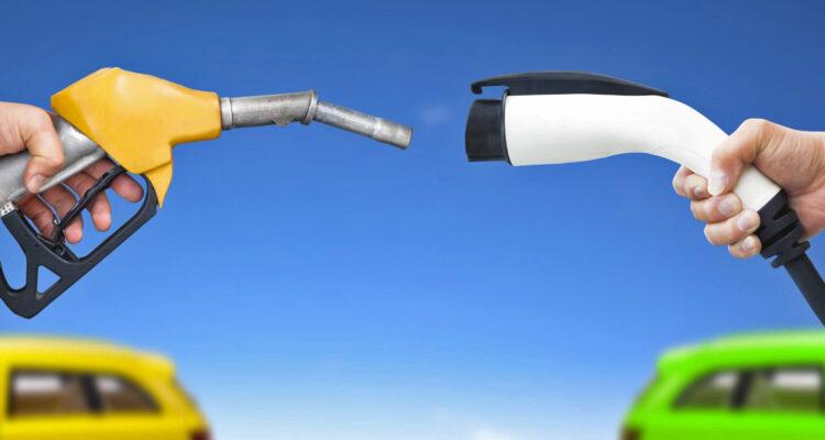 EV versus gasoline power