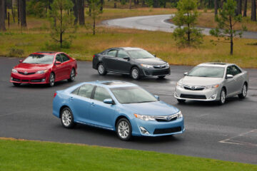 2014 Toyota Camry family