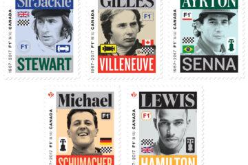 Formula 1 stamp series