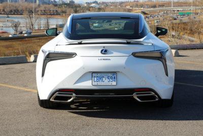 2018 Lexus LC 500h rear