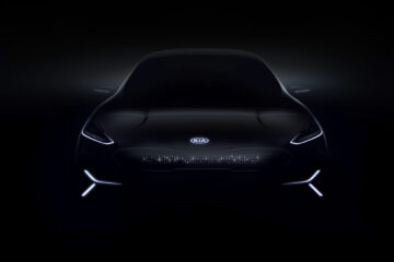 Kia Motors all-electric concept