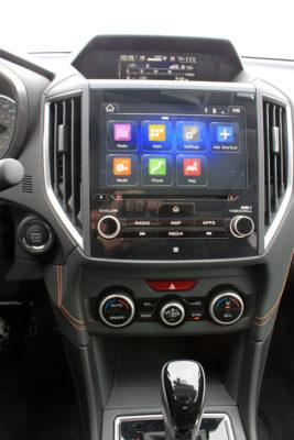 2018 Subaru Crosstrek center console