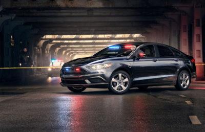 Ford Fusion Hybrid Police Responder