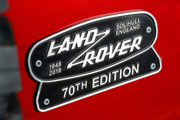 Land Rover 70th