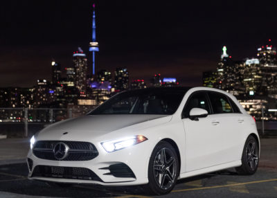 Mercedes-Benz A-Class Premieres in Toronto