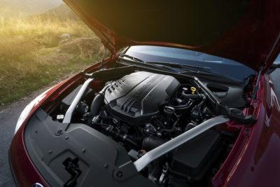 2019 Kia Stinger GT 2.0L engine