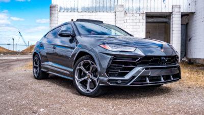 Test Drive the 2019 Lamborghini Urus