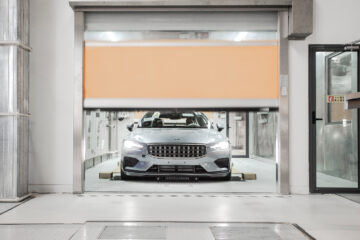 Polestar Production Centre in Chengdu, China