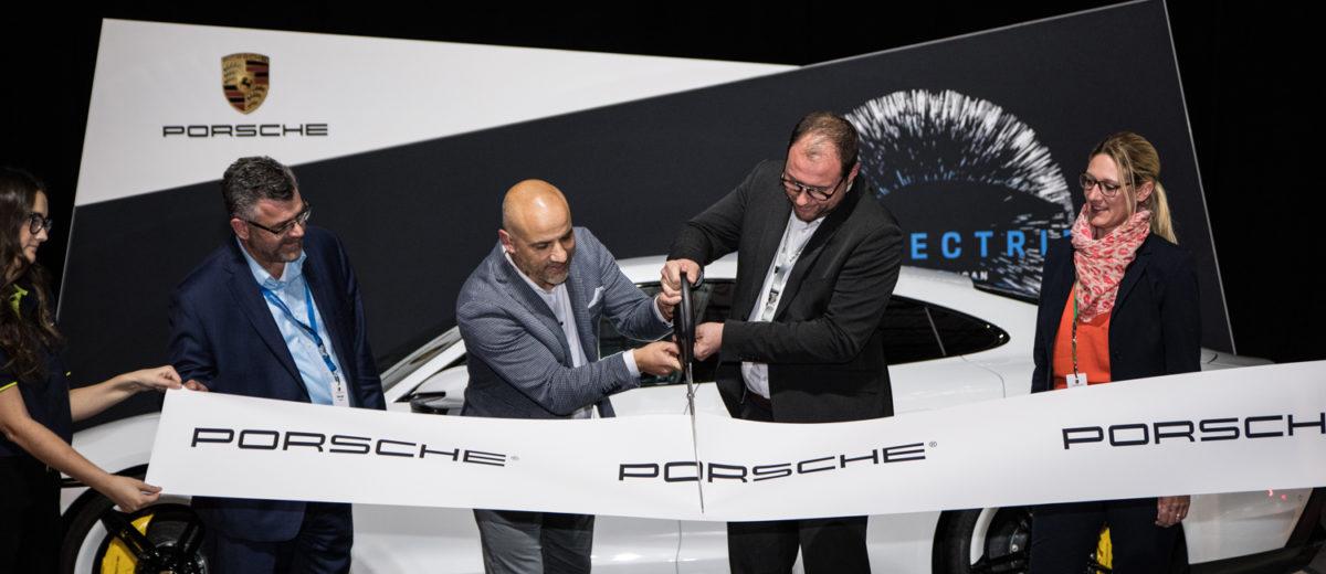 Porsche Canada Opens New Parts Warehouse