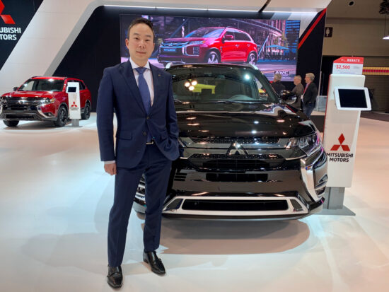 Juyu Jeon, President Mitsubishi Motor Sales of Canada