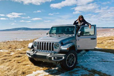Lisa Calvi and the 2020 Jeep Gladiator