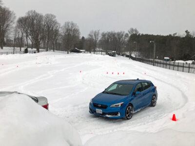 Subaru S*no Problem Winter Drive Event