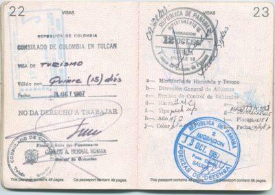 Another passport stamp