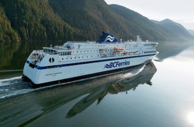BC Ferries crossing