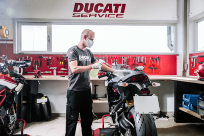 Ducati Cares – Safety First