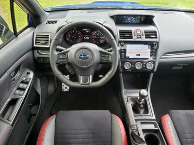 2020 Subaru WRX Sport-tech RS-steering wheel