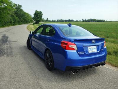 2020 Subaru WRX Sport-tech RS-rear-1