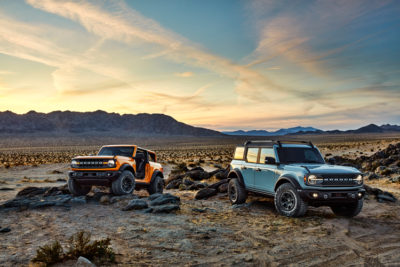 2021 Ford Bronco 2 and 4-door