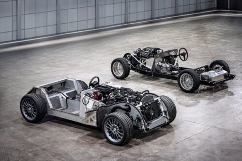 Morgan-CX-Generation-platform-and-traditional-steel-chassis