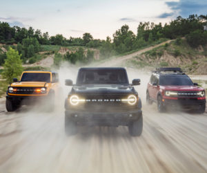 New Ford Bronco Family