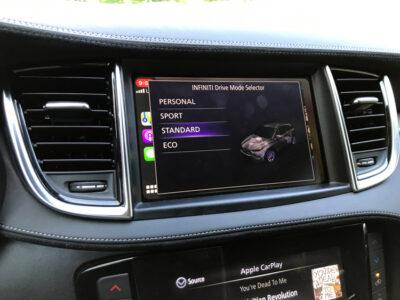 Infiniti Drive Modes