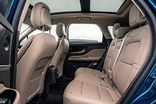 2020 Lincoln Corsair back seat