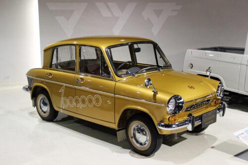 Gold Mazda Carol