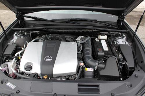 2020 Lexus ES 350 F Sport-engine