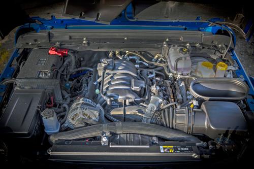 2021 Jeep Wrangler Rubicon 392-engine