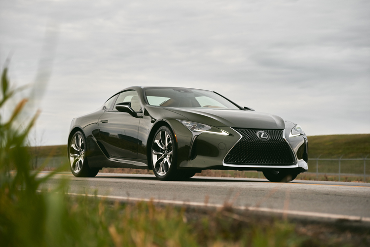 2021-Lexus-LC500-parked