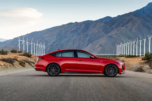 2020 Cadillac CT5-V AWD-side-profile