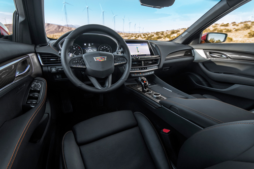 2020 Cadillac CT5-V AWD-interior