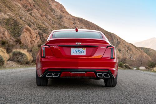 2020 Cadillac CT5-V AWD-rear