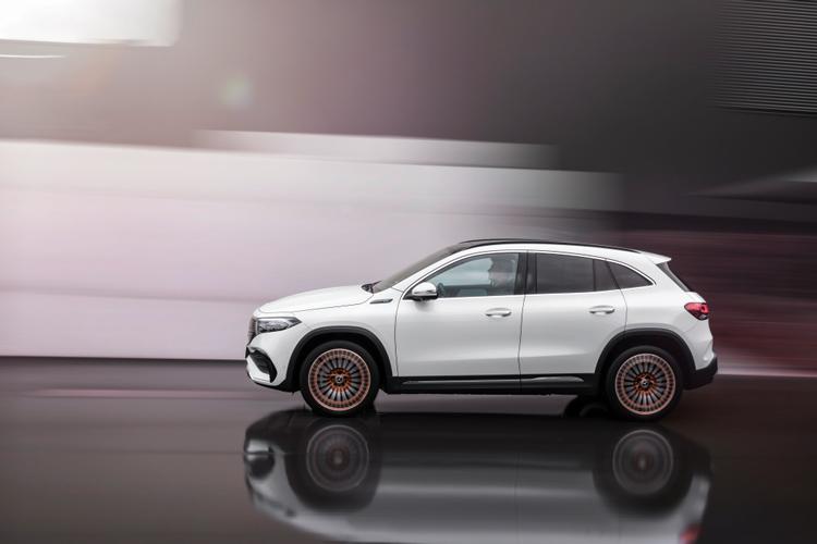 New Mercedes-Benz EQA250 Debuts-2