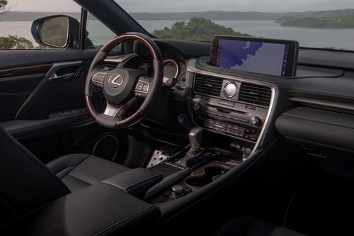 2021-Lexus-RX-450H-dash
