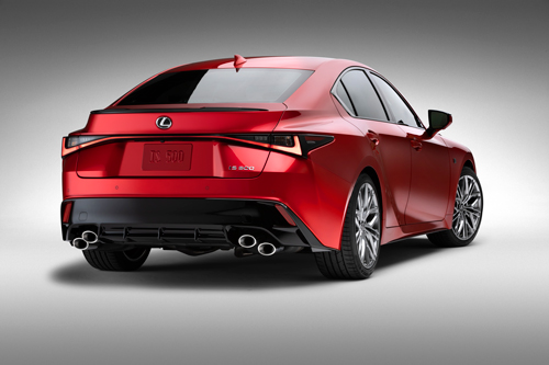 2022-Lexus-IS-500-rear