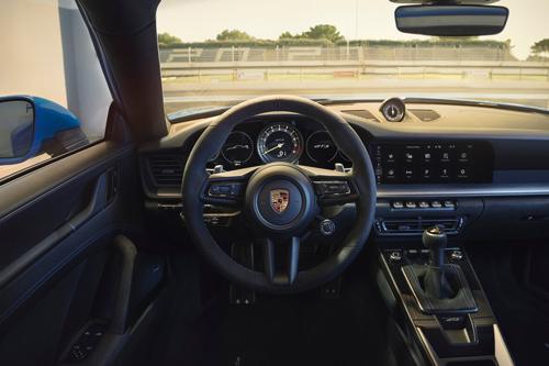 2022-Porsche-911-GT3-dash