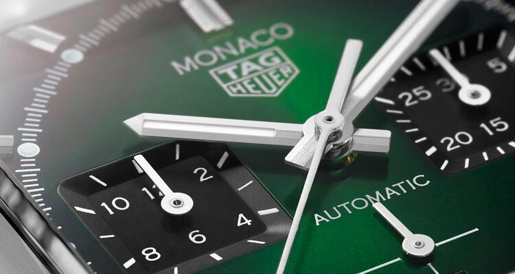 TAG-Heuer-Monaco-Green-Dial
